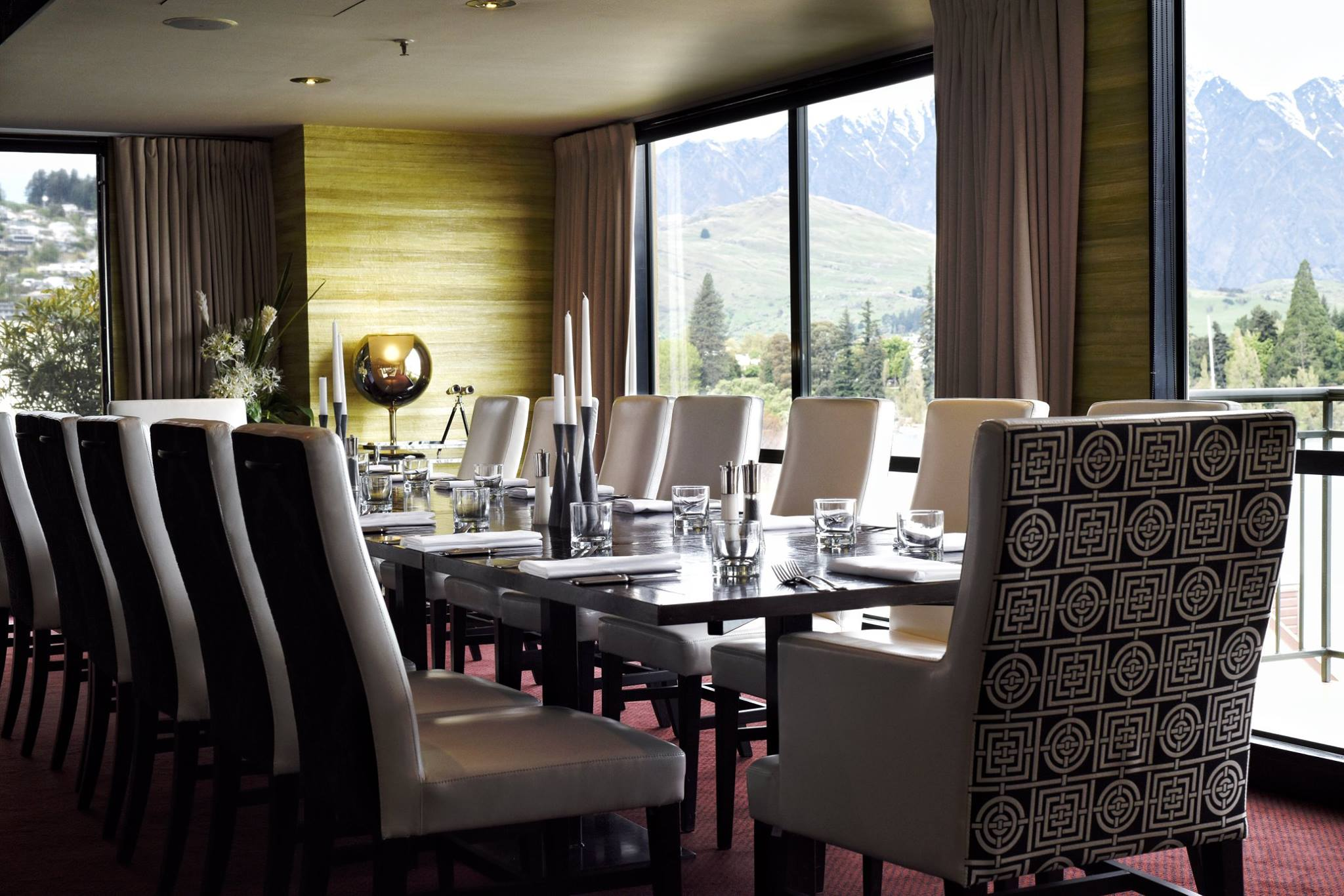 Succumb To Sumptuous Indulgence Of The Lombardi Quarter At Hotel St Moritz Queenstown From Handsome Dining Room Glamorous Den And Sensual